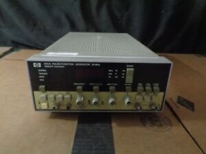 Hp 8111a 20mhz Pulse Function Generator