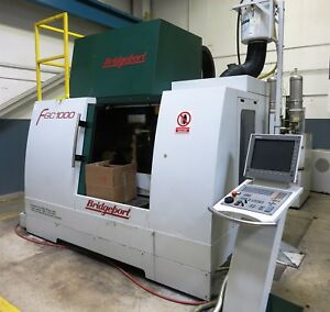 Bridgeport Model Fgc 1000 5 axis Vertical Machining And Flexible Grinding Center