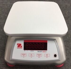 Ohaus V41xwe6t Valor 4000w Food Scale