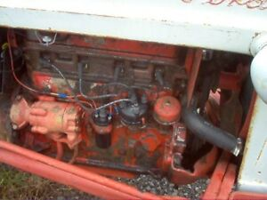 Ford 134 Tractor Complete Engine Runs Well Fit Jub Naa 601 601 800