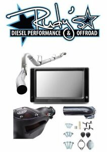Touch Screen Tuner Dpf Egr Delete 4 Exhaust S B For 08 10 Ford 6 4l Powerstroke