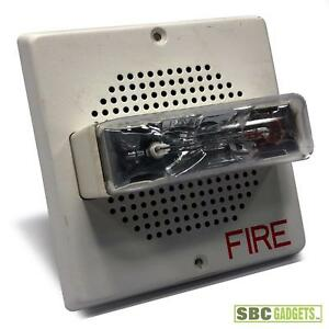 Siemens Sef mc w White Fire Alarm Horn And Strobe