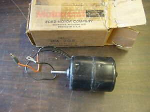 Nos Oem Ford 1965 1972 Truck Heater Motor F100 1966 1967 1968 1969 1970 1971