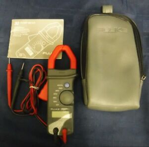 Flike 30 Clamp Volt Meter 600v 400a In Case