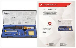Portable Butane Soldering Kit Torch Combo 2 In 1 Adjustable Flame Must Have