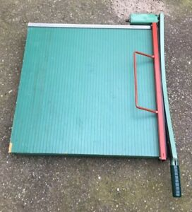 Premier 24 x24 Paper Cutter Guillotine Style excellent Condition
