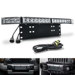 60w Led Spot Light Universal For Car Jeep Truck Work Driving Mounting Braket Us
