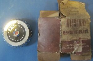 New Old Stock Steering Wheel Center 1957 Mercury With Power Steering