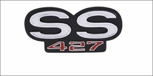 1969 Camaro ss 427 Rear Emblem W Retainers And Fasteners Brand New Gm Restort