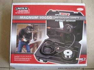 Lincoln Electric Magnum 100sg Welding Spool Gun For Aluminum Wire