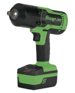 Snap On Ct8850 1 2 18 Volt Monsterlithium ion Impact Wrench Kit green