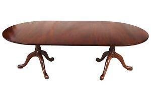 Cw Kittinger Mahogany Dining Table