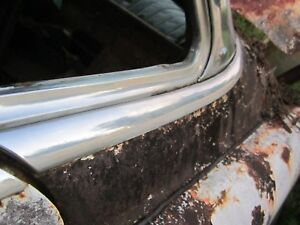 1953 Buick 4 Door Super Roadmaster Rear Window Belt Line Trim Molding