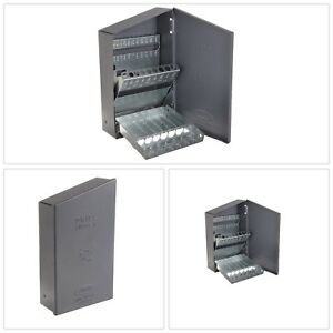 Drill Bit Index Durable Steel Organization Labeled Storage Holes Limited Edition