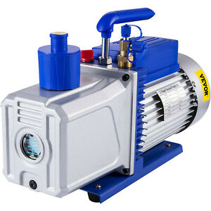 12cfm 2 Stages 1hp Refrigerant Vacuum Pump Air Condition 110v 50hz Refrigeration
