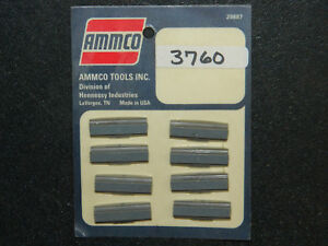 Brand New In Sealed Package Ammco No 3760 Brake Cylinder Hone Stones 4 Sets