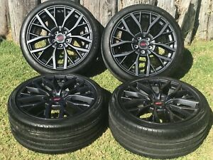 19 Subaru Sti Sti Limited Edition Factory Oem Wheels Rims Tires Package 68854