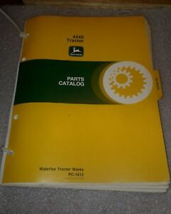 John Deere 4440 Parts Catalog Pc1612