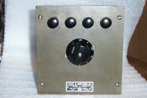 Leeds Northrup 2116 Fixed 10000 Ohms Decade Resistor Box Cleaned And Tested
