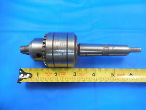 Supreme Drill Chuck 3t2 0 3 8 Capacity 2 Morse Taper Opens closes Easily
