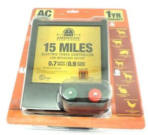 American Farm Works 15 Mile Ac Low Impedance Electric Fence Controller Eac15mai