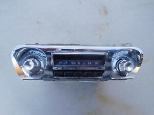 1959 1960 Chevy Impala Push Button Radio Oem