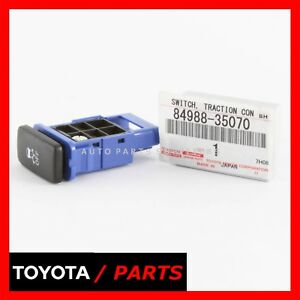 Factory Toyota 4runner Fj Cruiser 08 14 Traction Control Switch Oem 84988 35070