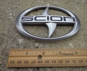Toyota Scion Trunk Emblem Badge Decal Logo Symbol Tc Xb Xa Oem Genuine Stock
