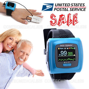 Wrist Pulse Oximeter Spo2 Pulse Heart Rate 24hours Overnight Sleep Study Monitor