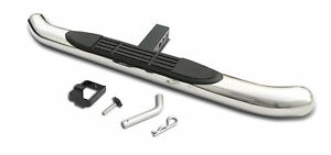 Universal Stainless Steel Hitch Rear Step Bumper For Vehicles With 2 Receiver