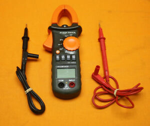 Klein Tools Cl200 Ac Clamp Meter Multimeter 600 Amp With 2 Leads