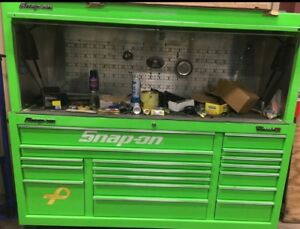 Snap On Tool Box With Hutch