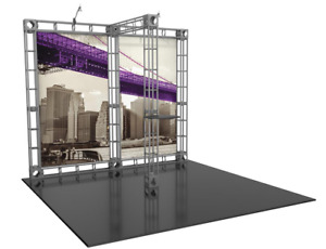 6 Piece 10 X 10 Trade Show Booth Exhibit Display Custom Printed Graphics