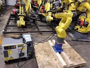 Fanuc Lr Mate 200ic Robot System Complete W R30ia Mate Controller