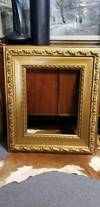 31 1 2 X 27 1 2 Overall Large Antique Gilt Gold Frame Museum Oil Painting
