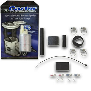 Carter In tank Fuel Pump For 1991 1994 Alfa Romeo Spider 2 0l L4 Electric Zx