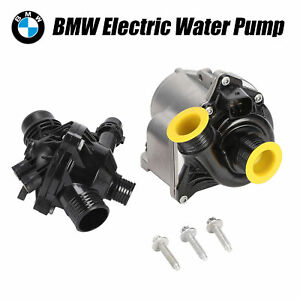 Engine Water Pump Electric Bolts Thermostat For Bmw Vdo Continental