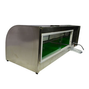 Clearance Price intbuying New 60 Refrigerated Sushi Display Case Stainless Arc