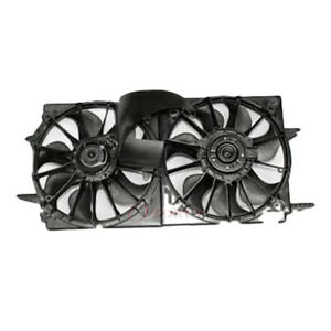 Tyc Dual Radiator And Condenser Fan Assembly For 1999 2005 Pontiac Grand Am Sd