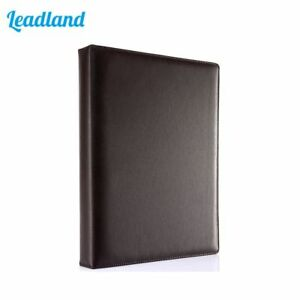 Leather A4 Ring Binder Files Folder Travel Files Portfolios For Business Supply