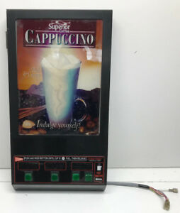 Cecilware Gb3m Superior Cappuccino Machine 3 Head Door Panel Used As Is