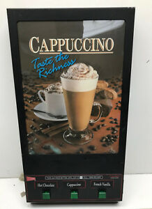 Cecilware Gb3m ld 3 head Hot Chocolate cappuccino Machine Door Panel Used As Is
