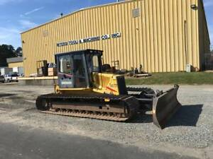 New Holland Dc70 Lgp Dozer Long Track W Cab 30k Hydraulic Winch