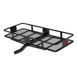 Curt Vehicle Rear Mounting Basket Style Cargo Carrier Up To 500 Lbs Open Box