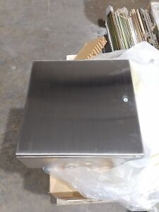New Hoffman Csd16166ss Special Enclosure Stainless Steel