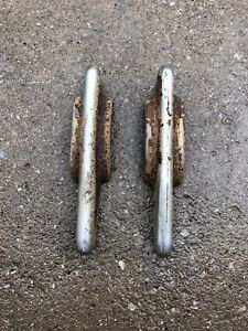 1939 Oldsmobile Front Bumper Guards L H R H