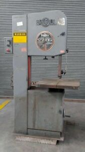 Doall Model 2013 Vertical Band Saw 13 X 20 Capacity