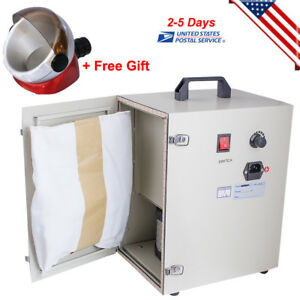 Pro Dental Digital Dust Collector Vacuum Cleaner Lab Equipment Suction Base Us