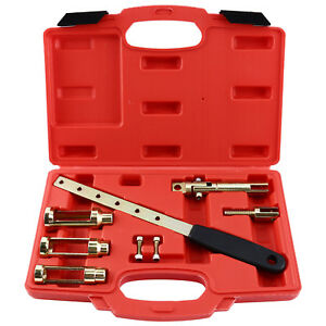 Engine Valve Spring Tensioner Set Valve Stem Seal Removal Compressor Tools