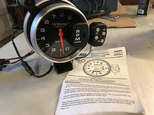 Autometer 6871 Ultimate 5 Inch Playback Memory Tach 9k Rpm Mustang Camaro